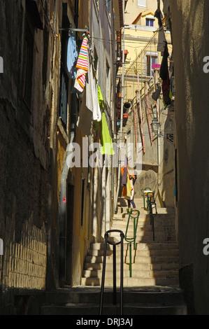 Lisbon. Alfama District. Portugal - Stock Photo