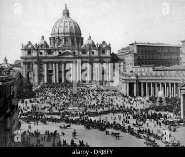 St Peter's, Vatican, Rome, Italy - Stock Photo