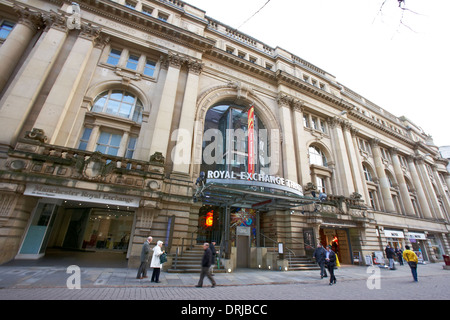 Royal Exchange Theatre in Manchester UK - Stock Photo