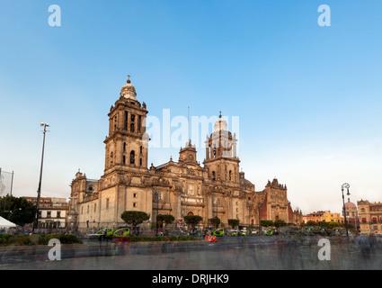 Cathedral Metropolitana, Mexico City - Stock Photo