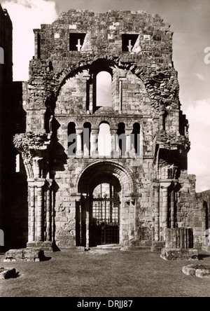 Lindisfarne Priory, Holy Island, Northumberland - Stock Photo