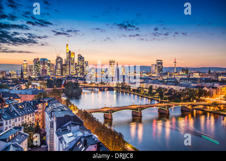 Frankfurt, Germany at the Cathedral. - Stock Photo