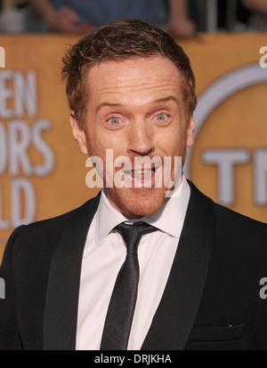 DAMIAN LEWIS English film actor in January 2014. Photo Jeffrey Mayer - Stock Photo