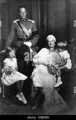 King Leopold III of Belgium with his wife Astrid of Sweden.