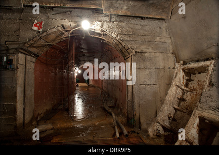 Tagansky Protected Command Point nuclear bunker Moscow cold war - Stock Photo