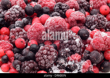 Frozen berries - Stock Photo