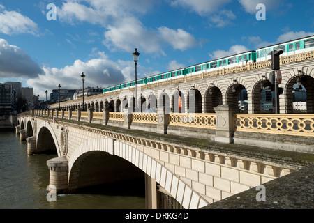 Pont de Bercy Paris France -1 - Stock Photo