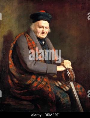 Colvin Smith, Patrick Grant 1822 Oil on canvas. Scottish National Gallery, Edinburgh. - Stock Photo