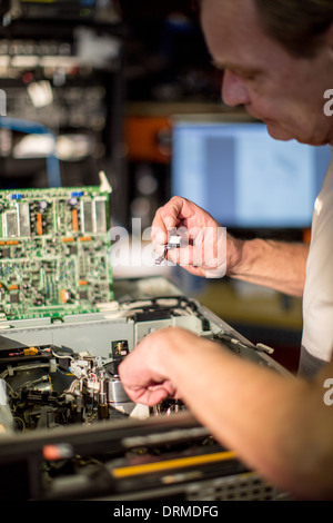 technology engineer work profession work job Stock Photo