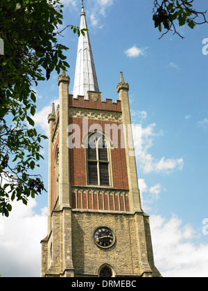 Church steeple - Stock Photo