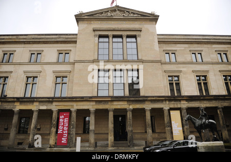 Germany. Berlin. Neues Museum (New Museum). Exterior. - Stock Photo