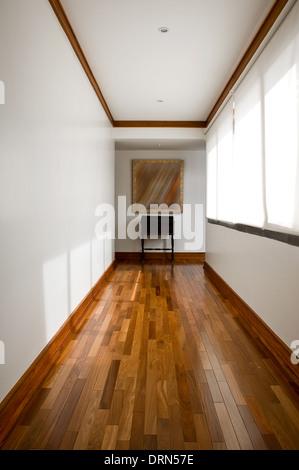 Interior design series: classic empty hallway - Stock Photo