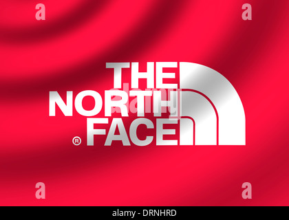 The North Face Logo Symbol Flag Icon Emblem Stock Photo 66243224