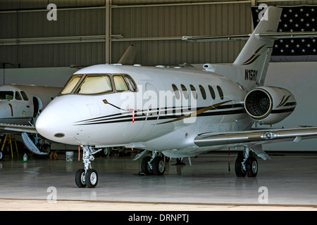 Raytheon Aircraft Company Hawker 800xp - Stock Photo