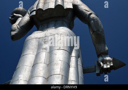 Monument Kartlis Deda (Mother Georgia), Tbilisi, Republic of Georgia - Stock Photo