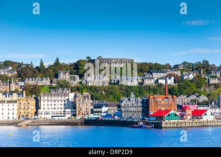 Oban harbour Argyll and Bute Scotland UK 2013 - Stock Photo