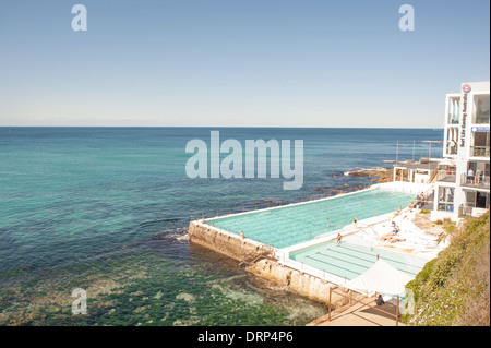 Bondi - Coogee Eastern Beaches Coastal Walk - Stock Photo