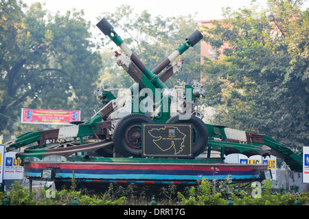 Indian army artillery in Ahmedabad; India; - Stock Photo