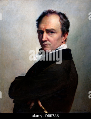 Self portrait François Joseph Navez 1787 –1869 Flemish Belgian Belgium - Stock Photo