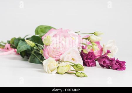 Eustoma flowers - Stock Photo