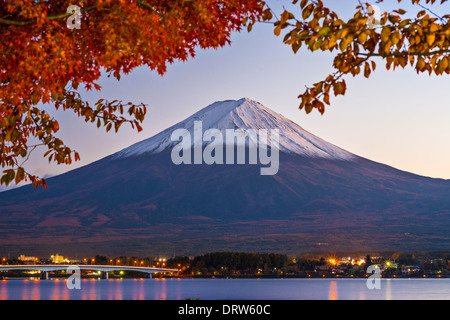 Mt Fuji in the Fall season. - Stock Photo