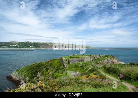Fishguard Napoleonic Fort - Stock Photo