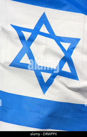 Israeli Flag, Israel - Stock Photo