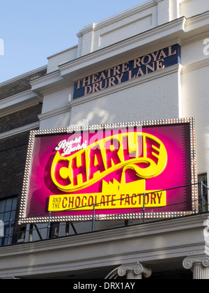 Charlie and The Chocolate Factory At The Theatre Royal Drury Lane - Stock Photo