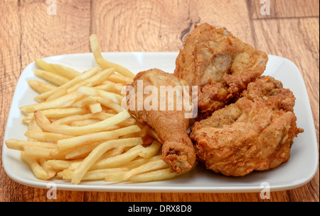 Kfc meal kentucky fried chicken hot wings menu stock - Kentucky french chicken ...