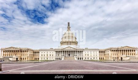 US Capitol panoramic view - Stock Photo