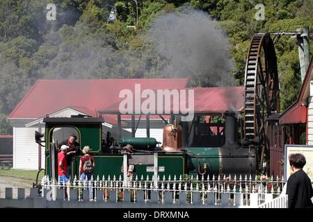 Shantytown, West Coast, South Island, New Zealand - Stock Photo
