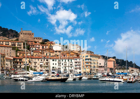 Porto Santo Stefano, Tuscany, Italy - Stock Photo