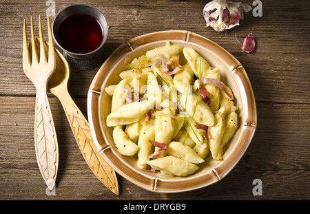 Polish dumplings - Stock Photo