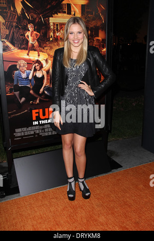 Gracie Dzienny at the 'Fun Size' Los Angeles Premiere, Paramount Studios, Hollywood, CA 10-25-12 - Stock Photo