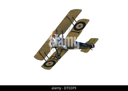 Cutout of Sopwith Camel - WWI Fighter Plane - Stock Photo