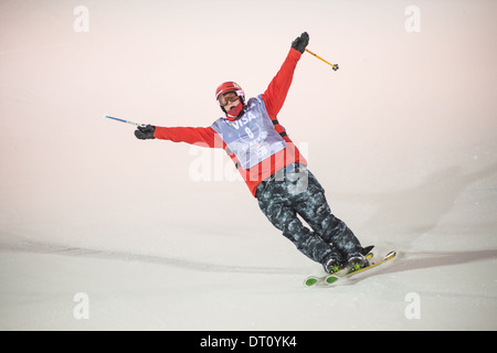 US Grand Prix Freeskiing, Park City Mountain Resort, Park City, Utah, 2014 - Stock Photo