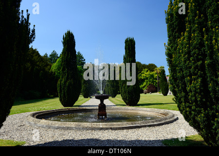 gardens of huntington castle clonegal carlow Fellowship of Isis plantation castle - Stock Photo