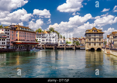 Zurich lake, Switzerland - Stock Photo