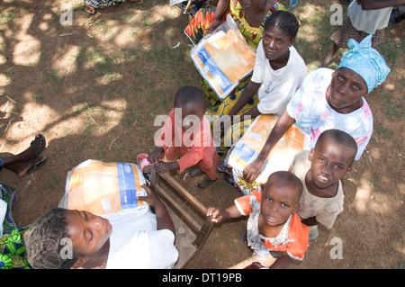 malaria clubs meet to educate communities regarding malaria - Stock Photo