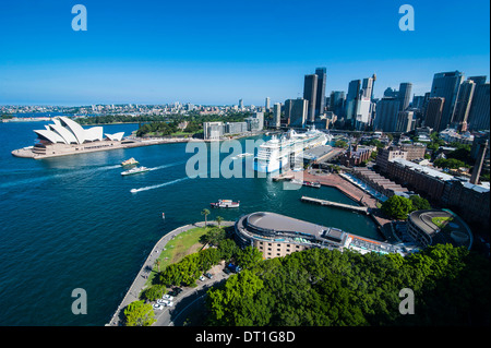 View over Sydney, New South Wales, Australia, Pacific - Stock Photo