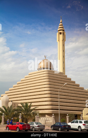 Pyramid Mosque, Salmiya, Kuwait City, Kuwait, Middle East - Stock Photo