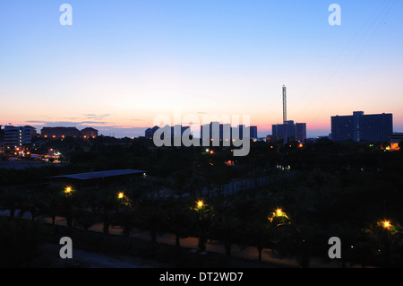Pattaya on sunrise - Stock Photo