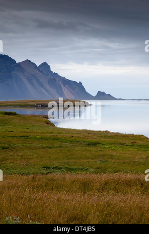 Wetlands at Hofn, Iceland - Stock Photo