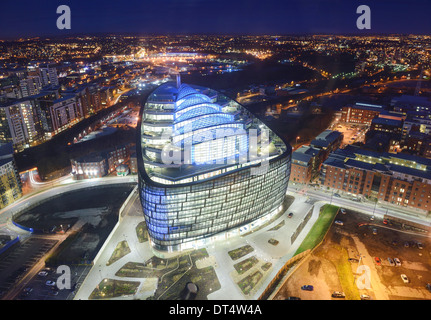The new Co-Operative Bank headquarters in Manchester UK - Stock Photo