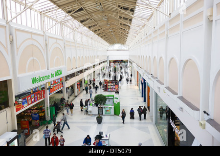 Inside of the Westfield Merryhill shopping centre in the West Midlands UK - Stock Photo