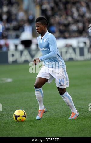 Rome, Italy. 9th Feb, 2014. Rome, Italy - 9th Feb, 2014. Keita' during. Football / Soccer : Italian Serie A match - Stock Photo