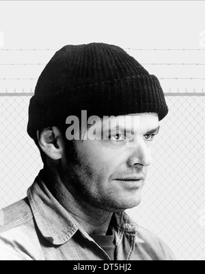 JACK NICHOLSON ONE FLEW OVER THE CUCKOOS NEST (1975) - Stock Photo