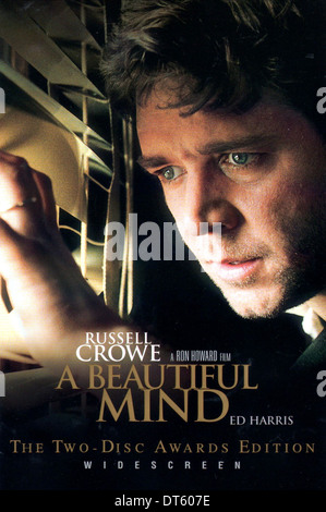 RUSSELL CROWE POSTER A BEAUTIFUL MIND (2001) - Stock Photo