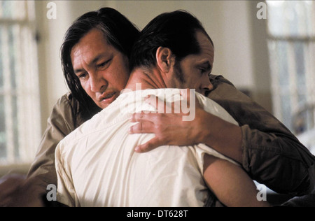 WILL SAMPSON, JACK NICHOLSON, ONE FLEW OVER THE CUCKOO'S NEST, 1975 - Stock Photo