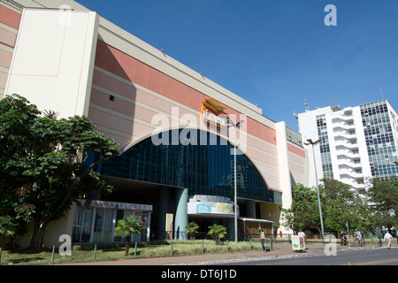 ... One Of The Large Shopping Malls In Brasilia, Brazil, Is The Patio Brasil .